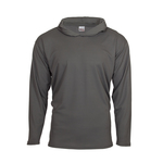 Long sleeve hooded shirt