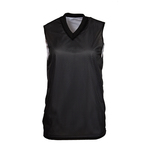 V-neck mesh ladies' reversible jersey
