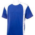 Jersey with contrast color side panels