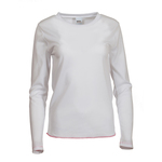 Long sleeve women's crew neck shirt