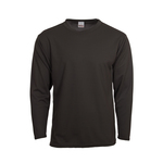 Long sleeve with contrast side inserts