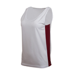 Women's Basketball singlet with side panels