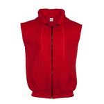 Sleeveless Hoody with zipper